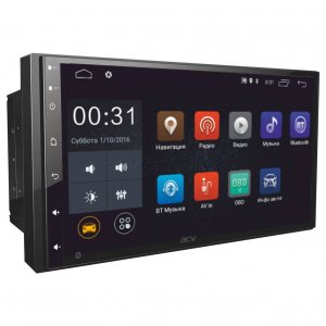 "ACV AD-7180 2din мультимедиа 7""/Android 8.1/1024*600/2+16Гб/FM/AM/USB/SD/BT/GPS/PhoneLink/SUB"