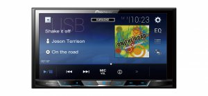 PIONEER MVH-A 300V DVD/MP3/CD ресивер  2DIN