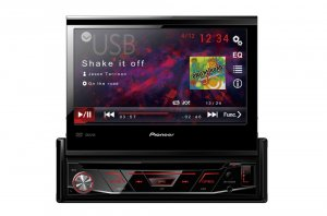 PIONEER AVH-3100  DVD/MP3/CD ресивер