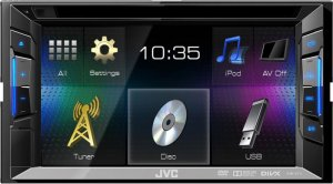JVC KW-V11EED DVD/MP3/CD ресивер c  монитором 2 DIN