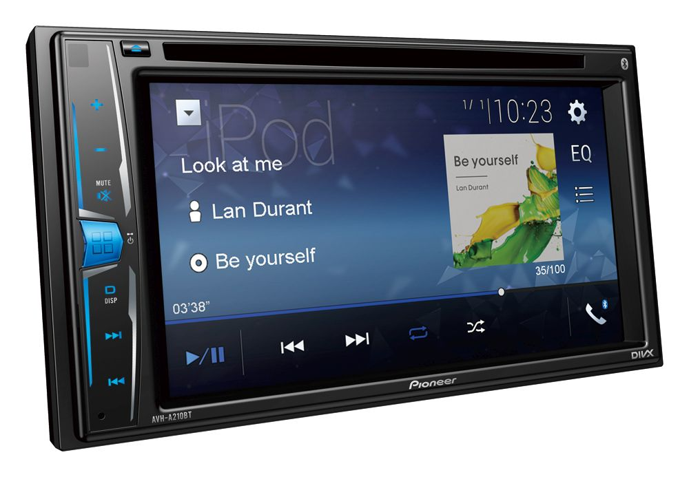 PIONEER AVH -A 210BT DVD/MP3/CD ресивер  2DIN