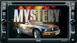 MYSTERY MDD-6240S  DVD/MP3/CD ресивер  2 DIN
